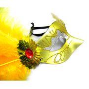 Mascara Kit 5 Unidades  De Luxo Gala Carnaval Fantasia Festa Evento (6151-21)