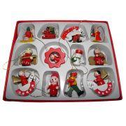 Enfeites De Natal Para Arvore De Natal Em Madeira (JA80259)