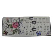 Relogio Calendario De Mesa New York Vintage Retro Decoracao (XIN-06)