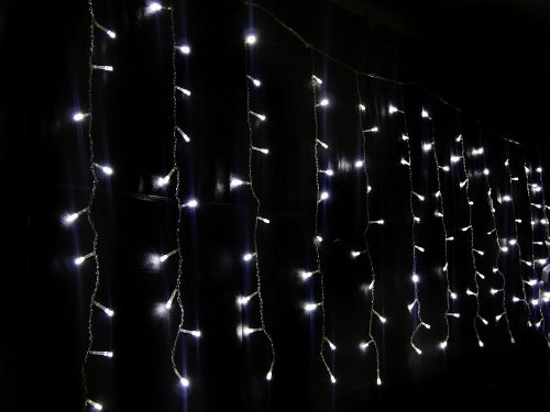 decoracao lampadas led : decoracao lampadas led:Cascata Pisca Pisca Led Branca 100 Lampadas Natal e Decoracao (JA