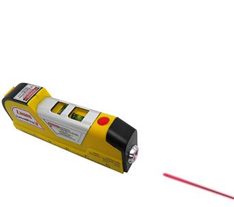 Nivel A Laser Com Trena 2 Bolhas Horizontal Vertical E Diagonal (9472)