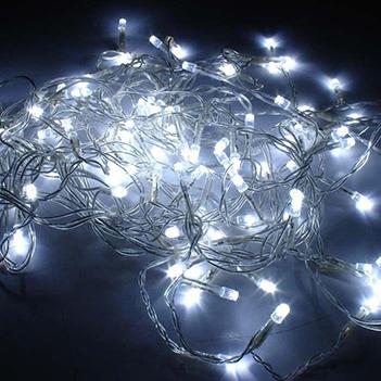 Cascata Pisca Pisca Led Branca 100 Lampadas Natal e Decoracao NTL1100B127V