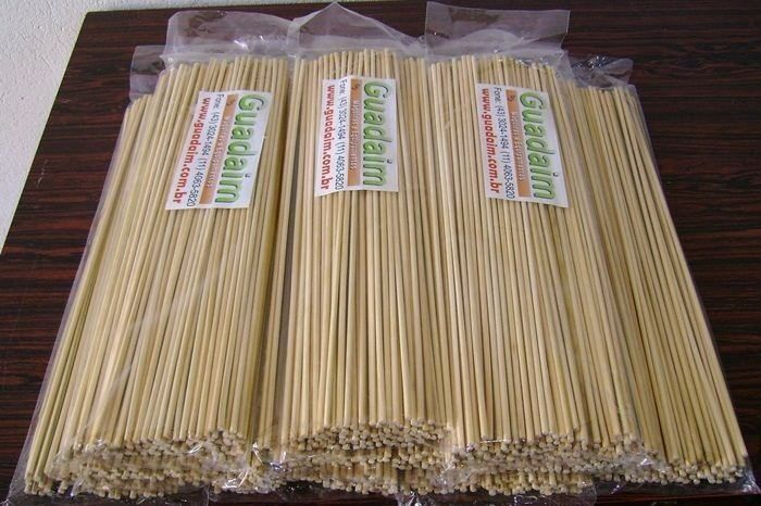 Palito Vareta de Bambu para Algodão Doce de 40cm - Pacote com 1000