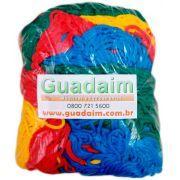 Rede de Proteção Colorida para Cama Elástica de 2,44m