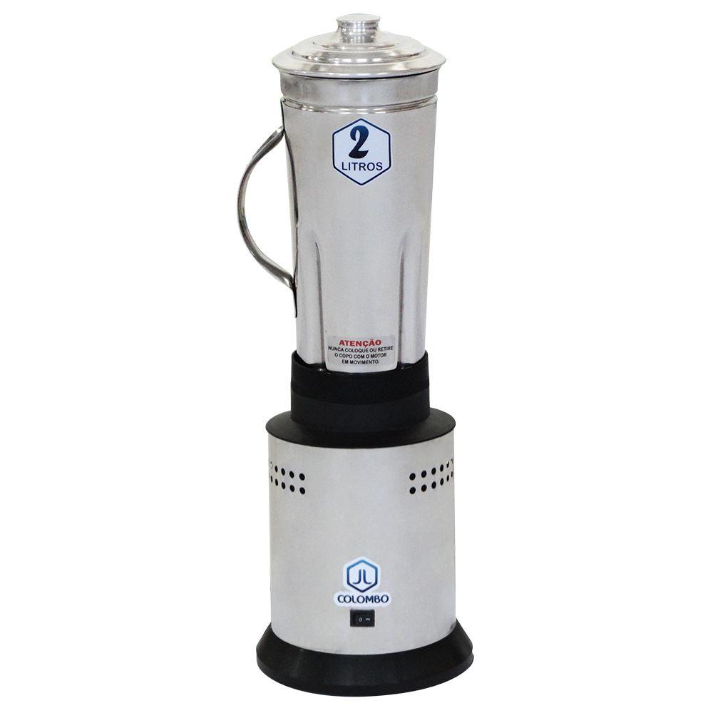 Triturador de Alimentos Profissional 2 litros Bivolt