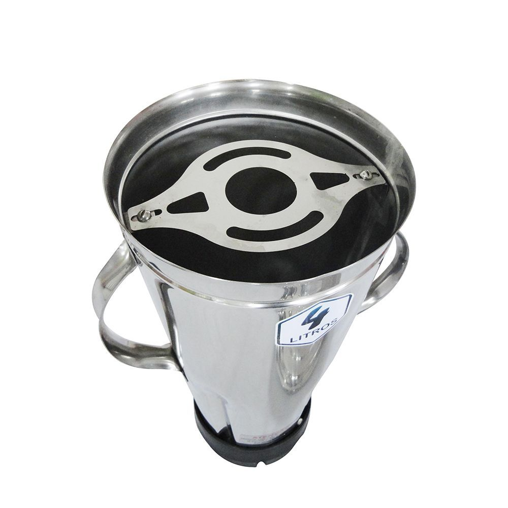 Triturador de Alimentos Profissional 4 litros Bivolt