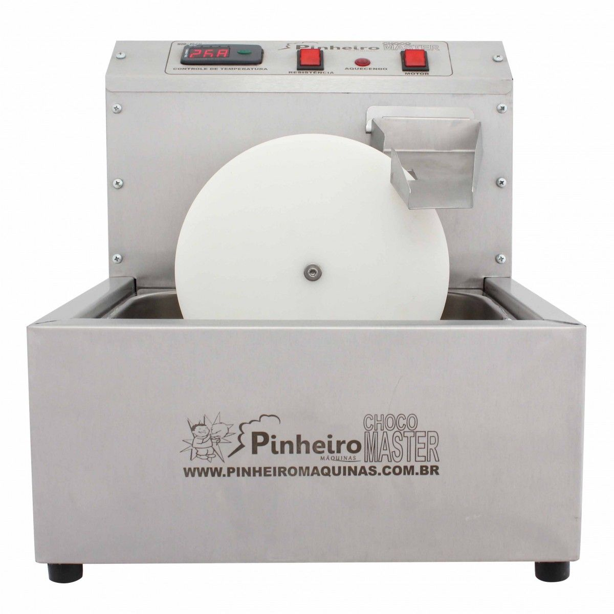 Derretedeira de Chocolate Giratória  Master Digital