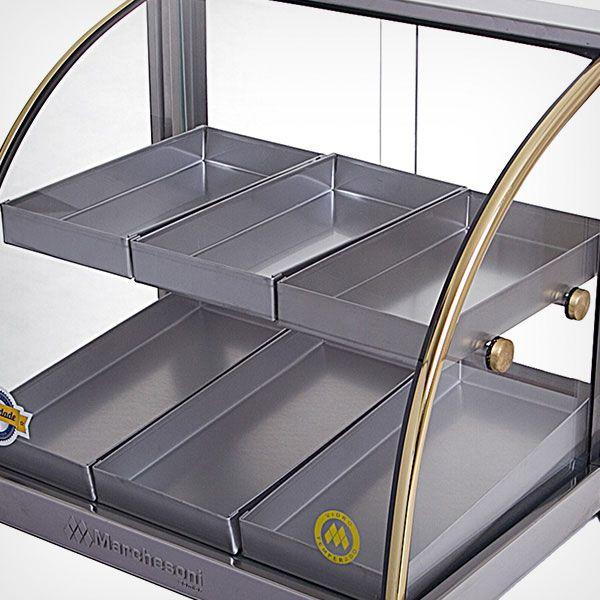Estufa de Salgados Ouro com 8 Bandejas Marchesoni