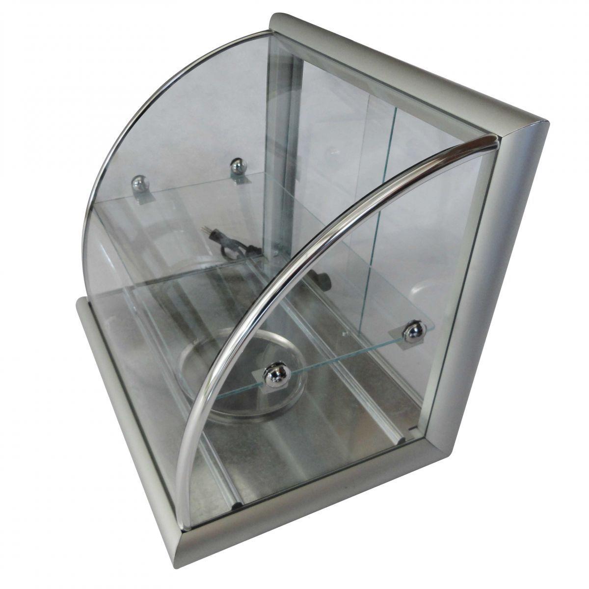 Estufa de Salgados com 6 Bandejas em Alumínio Anodizado.