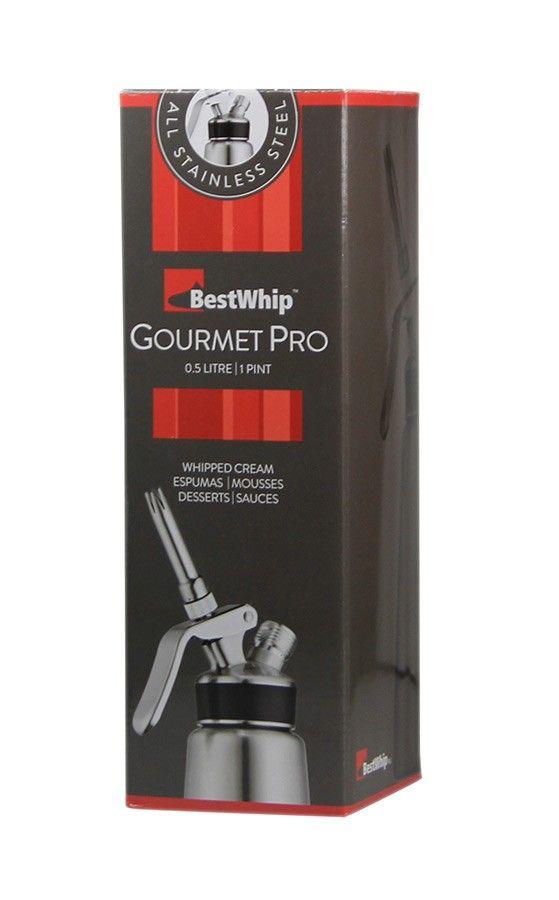 Garrafa de Chantilly, Espumas e Cremes Gourmet Pro BestWhip Plus