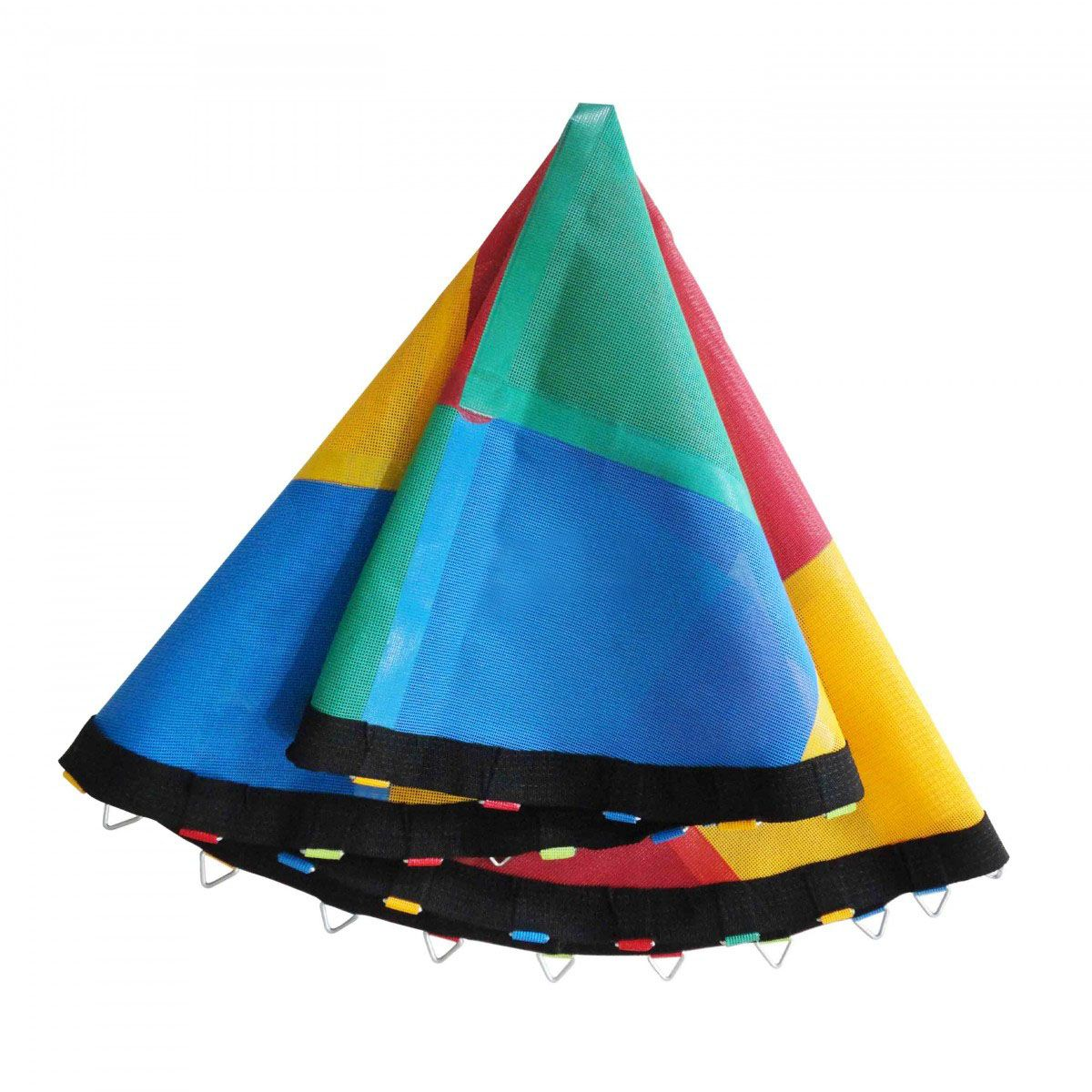 Lona de Salto Colorida para Cama El�stica de 2,00m para 42 molas