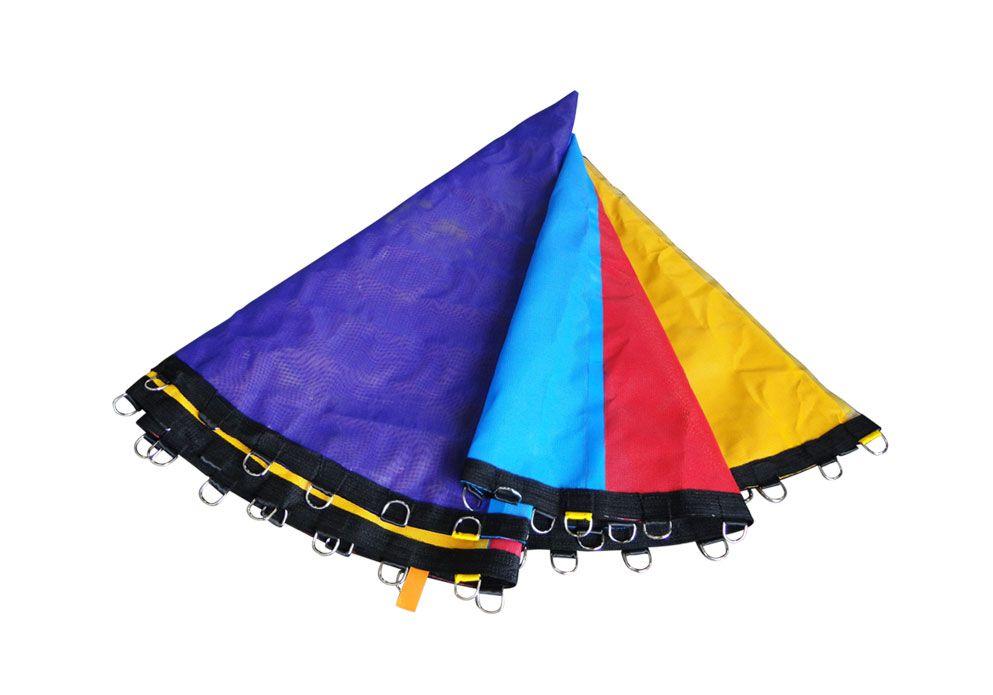 Lona de Salto Colorida para Cama El�stica de 3,05m para 64 molas