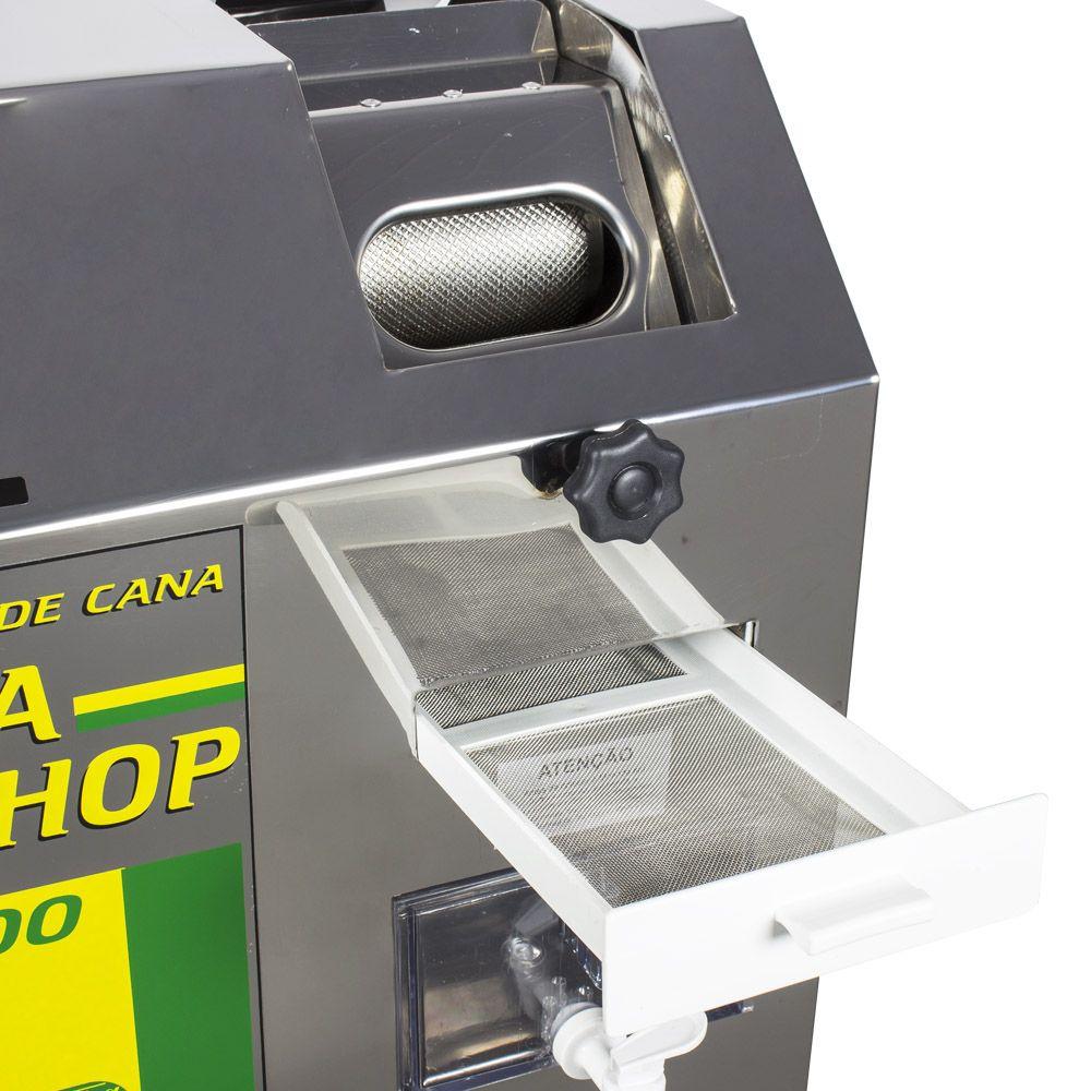 Moenda Cana Shop 200 Inox Vencedora Maqtron