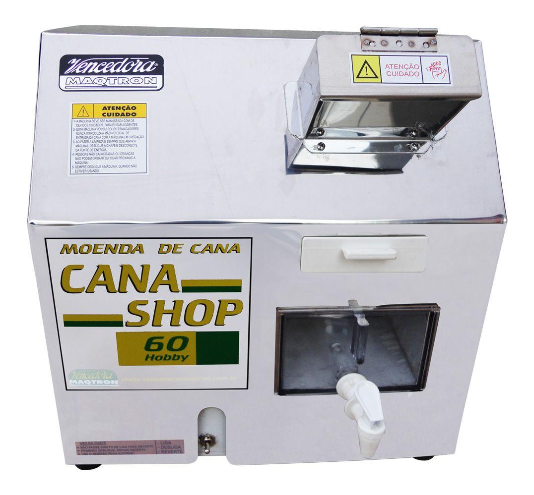 Moenda Cana Shop 60 Maqtron com Rolos de Inox