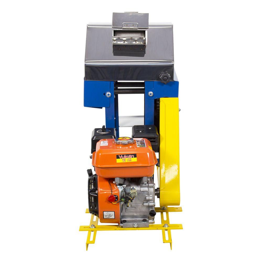 Moenda de Cana a Gasolina Partida Manual B-721 TURBO Rolos de Ferro