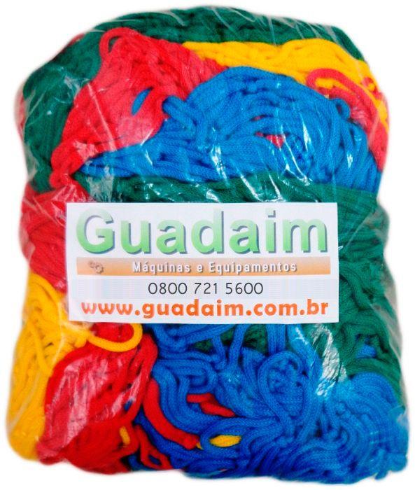 Rede de Prote��o Colorida para Cama El�stica de 2,00m