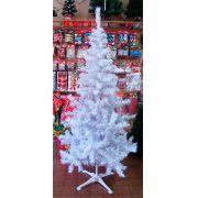 Árvore de Natal 2,00 Pinheiro D´ Italia com 410 Galhos - Branca com Prata - Magazine Legal
