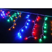 Cascata 400 Leds Coloridos c/ Sequencial - Enfeite Natal 8 Mts Comprimento. - Magazine Legal