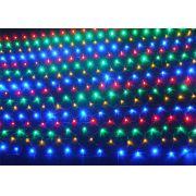 Rede 320 Leds Coloridos c/ Sequencial - Enfeite Natal 2,50 Mts x 1,50 Mts. - Magazine Legal