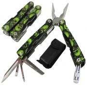 Alicate Canivete Multiuso Kit Ferramentas 6 em 1 WMTAA2-2 de Aço Inox