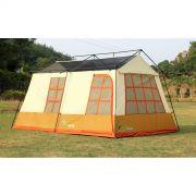 Barraca de camping mans�o 10 pessoas Adventure Brasil ADV-1001 Marrom