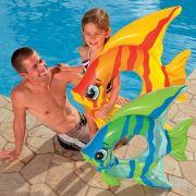 Bóia Inflável Infantil Peixinho Divertido Intex 59219 - 94 cm x 80 cm