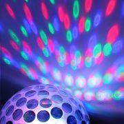 Bola Maluca Led Rgb MP3 Projetor Hologr�fico Magic Ball Light YCZ001