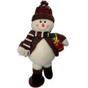 Boneco de Neve Luxo em Pel�cia com 48cm de Altura CBRN0371 CD0075