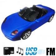 Caixa de Som Carro MP3 Hi-Fi Fm Entrada Micro SD Usb B11-B
