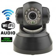 C�mera Seguran�a Ip Wireless Vis�o Noturna Smartphone S�rieB1 CBR1037
