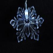 Cascata Luminosa Floco de Neve Branco 110v 1130 100 Leds