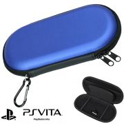Case Sony PS Vita, PSP 1000, 2000, 3000 Capa Anti-Choque Azul CBRN1026