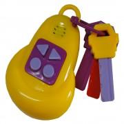 Chaveiro Baby Smart Remote Musical Kaichi Toys 600-2A