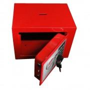 Cofre Eletr�nico Digital A�o c/ 2 Chaves Seguran�a CBR1061/DS1602