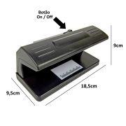 Detector Testador Dinheiro Nota falsa selos, cheques CBRN02832