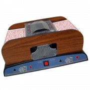 Embaralhador Cartas Deluxe Pilha Baralho Poker Truco CBR1085