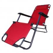 Espregui�adeira Cadeira Reclin�vel Color com Encosto Cabe�a - CBR-1018