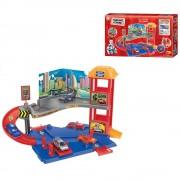 Estacionamento Super Garage 1 Andares + 3 Carrinhos P3788A-1 Pista 31 cm x 40 cm