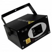 Laser Stage Lighting Projetor Hologr�fico Trip� HL22 2CORES bi-volt