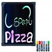 Letreiro Luminoso Led em RGB Lousa Quadro LED Writing Board 60 cm x 40 cm - 1653