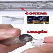 Mangueira Luminosa LED Vermelho Corda Natal Pisca Rolo 100mt 220v - 1099