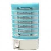 Mata mosquito inseto repelente lâmpada LED UV bivolt azul CBRN04454