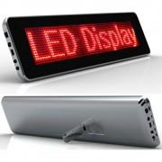 Painel eletronico letreiro luminoso LED 1673 YL-966R VERDE
