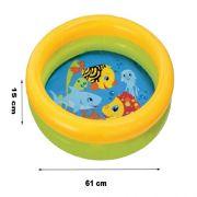 Piscina Infl�vel Infantil Intex Modelo 59409 61 cm x 15 cm - 25 LITROS