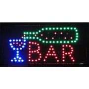 Placa Led Quadro Letreiro Luminoso Decorativo Bar cd 1602