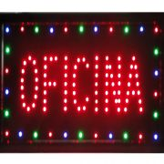 Placa Led Quadro Letreiro Luminoso Decorativo Oficina 1620