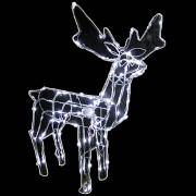 Rena Iluminada de natal Macho 100 Leds com Movimento 127v GL48LDMS-1 - Decora��o Natal