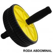 Rodas Abdominais AB WHEEL Colorido com Tapete CBR01068