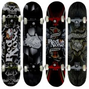 Skateboard Pró Street Radical Red Nose Rodas Gel Bel Sports modelo 4022 Belfix