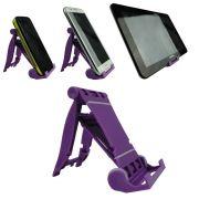 Suporte Universal para Smartphone, Tablet, E-book, Roxo CBRN02115